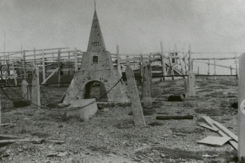 Фотография 1991 года. Источник: Архив Ненецкого окружного краеведческого музея